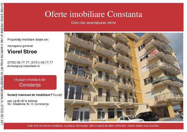 Oferte imobiliare Constanta