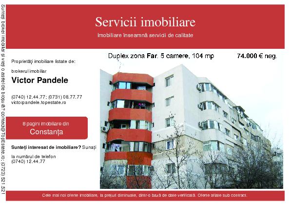 Servicii imobiliare